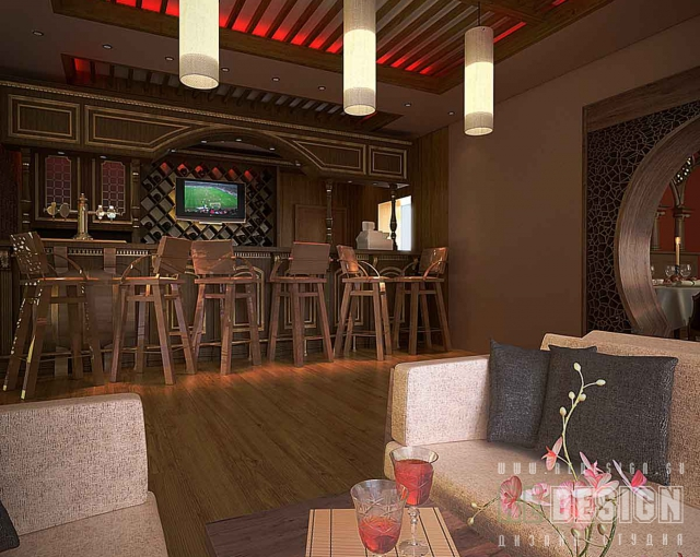 дизайн интерьера кафе в Краснодаре