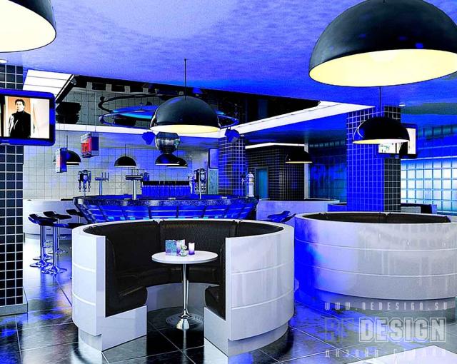 дизайн интерьера ночного клуба в Краснодаре